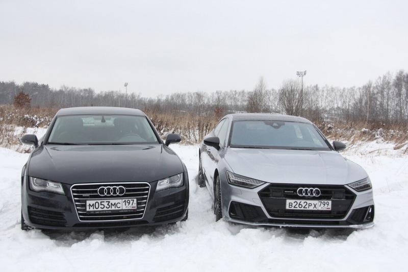 Новый Audi A7 против Ауди А7 2011 за 1 млн: что выбрать?