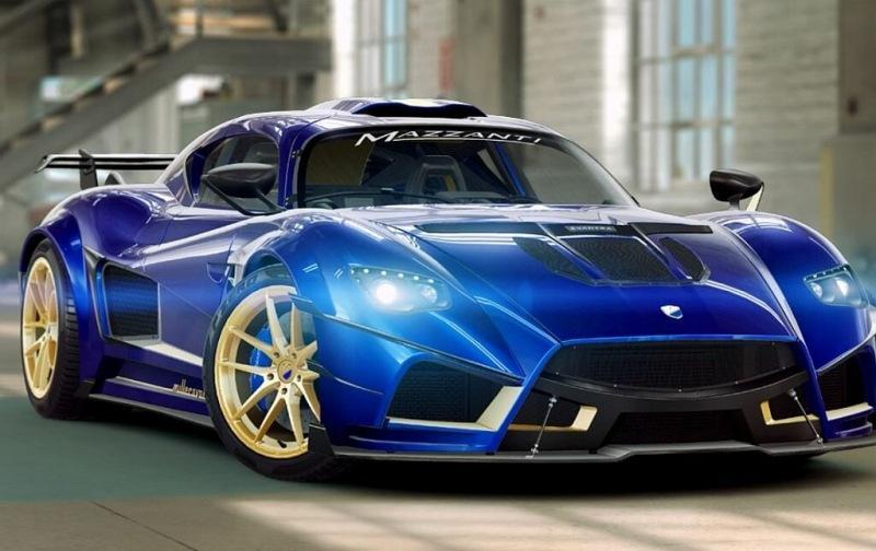 Производитель суперкаров Mazzanti запустил STO