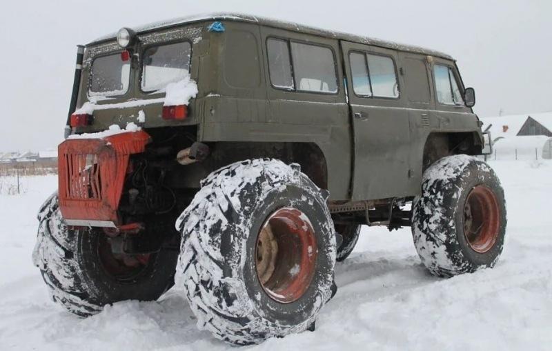 8 фото самодельных вездеходов из России: странные и крутые