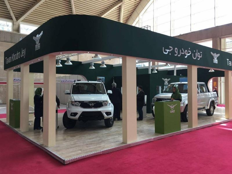 УАЗ Патриот вышел на рынок Ирана