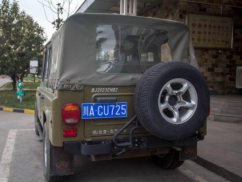Китайцы копировали российский УАЗ