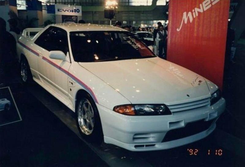 Редкие фото японского тюнинга 90-х