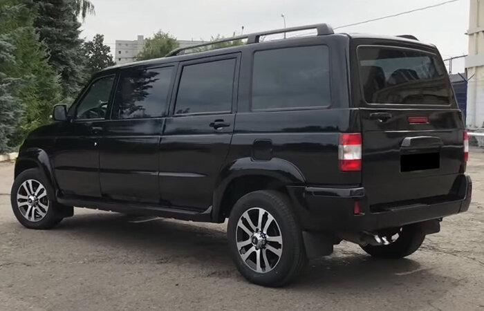 Неизвестные разработки: лимузин на базе внедорожника УАЗ «Патриот»