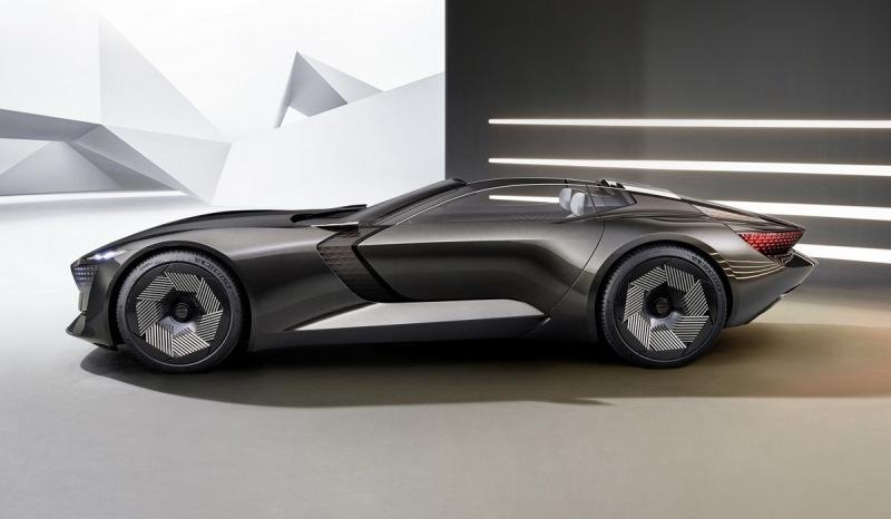 Audi Skysphere: электрородстер с изменяемой колесной базой