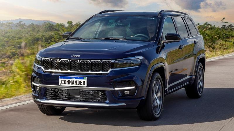 Бразильский Jeep Commander на базе глобального Compass: 7 мест и уникальный дизайн