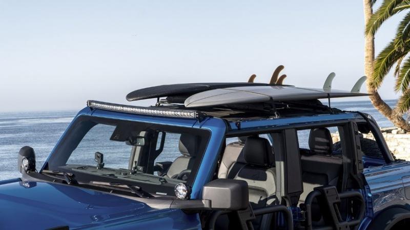 Ford показал Bronco Riptide: без крыши, без дверей, с другим передним бампером