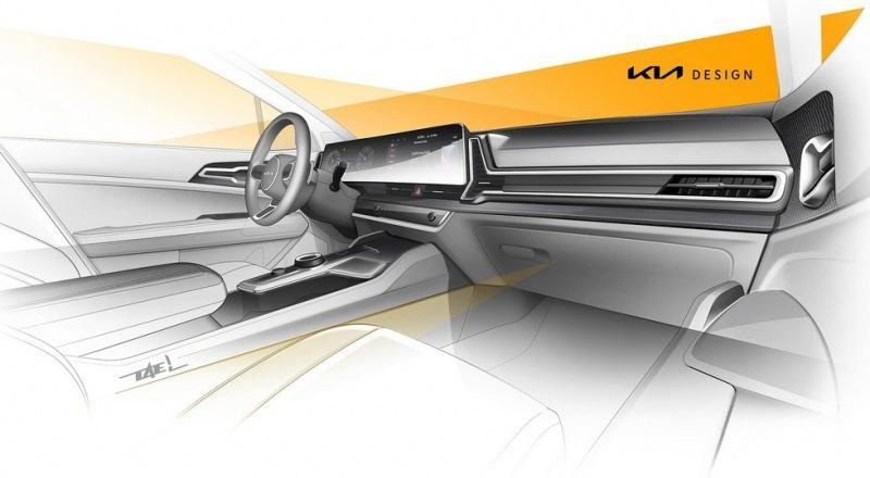 Kia снова показала короткий Sportage: внутри кроссовер повторил версию для Кореи