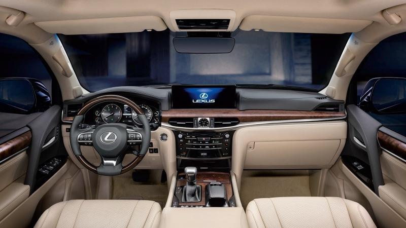 Новый Lexus LX 570: первые изображения