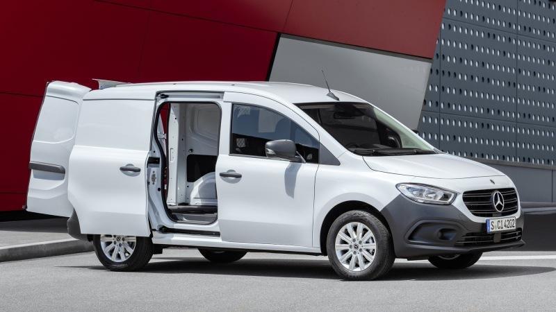 Новый Mercedes-Benz Citan: не такой практичный, как родственный Renault Kangoo