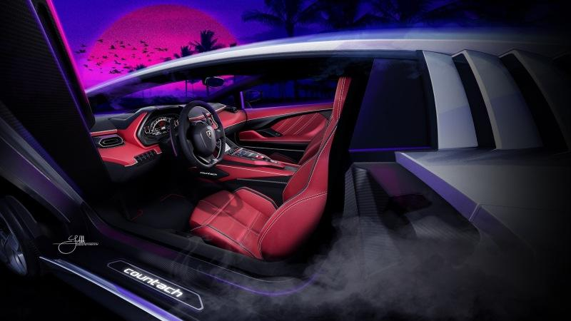 Sian в гриме: новый Lamborghini Countach оказался обычной стилизацией