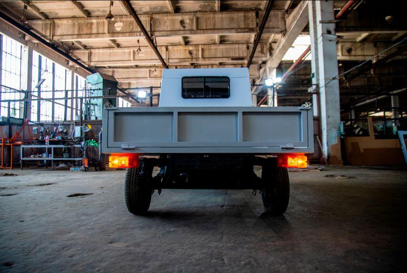 В Киргизии построили электрический грузовик с деталями АвтоВАЗа