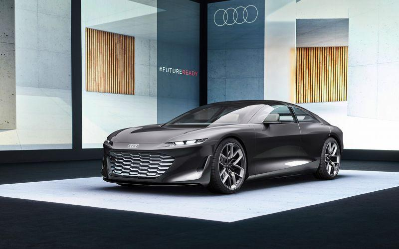 Audi показала Grandsphere с распашными дверьми. А еще он больше A8