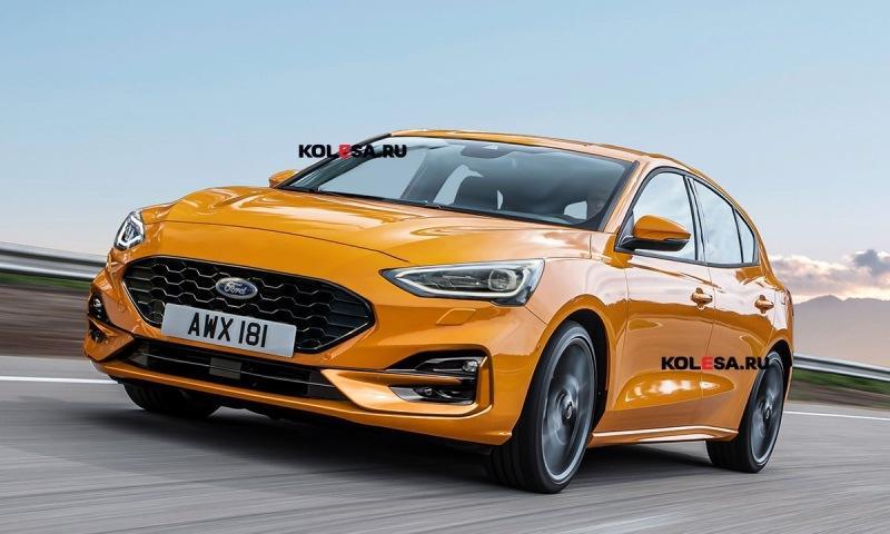 До презентации обновлённого Ford Focus осталось несколько месяцев: новое фото