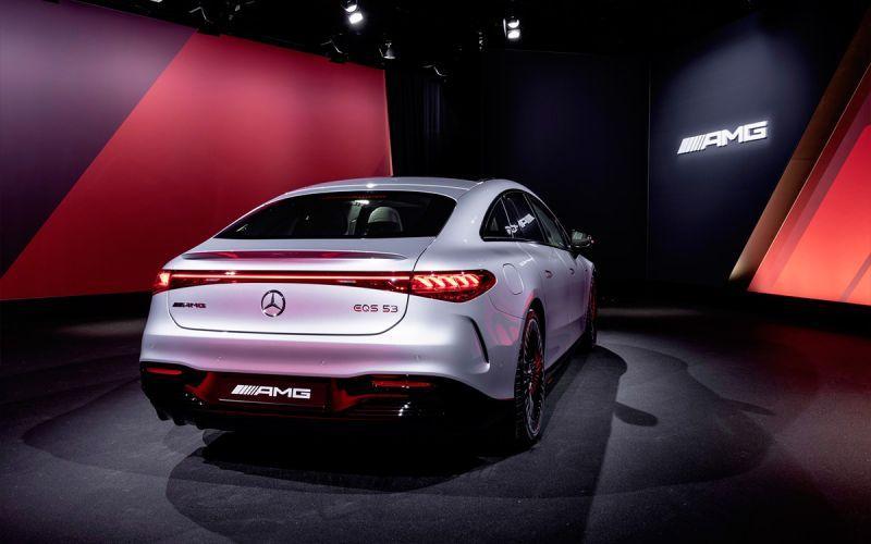 Флагманский электрокар Mercedes получил 761-сильную версию