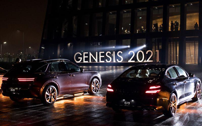 Genesis представил в России новый седан и кроссовер