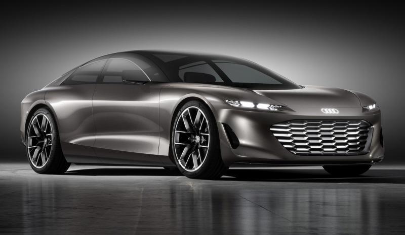 Концепт Audi Grandsphere: представительский седан будущего