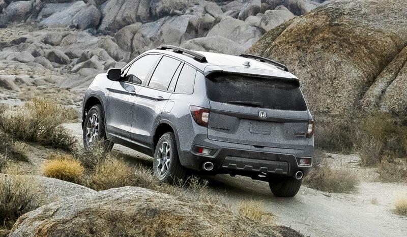 Кроссовер Honda Passport: рестайлинг и версия TrailSport