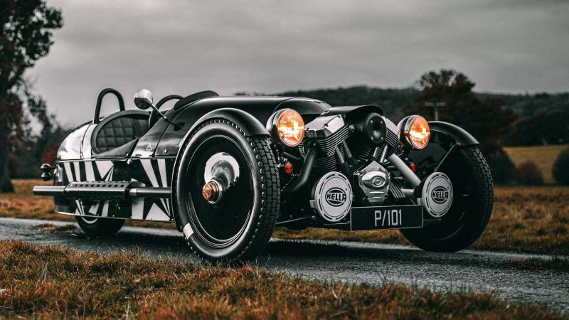Не надо гнать электричество: новый Morgan 3 Wheeler получил бензиновый мотор Ford
