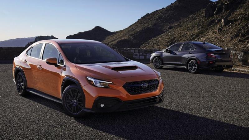 Новый «горячий» седан: Subaru рассекретил WRX следующего поколения