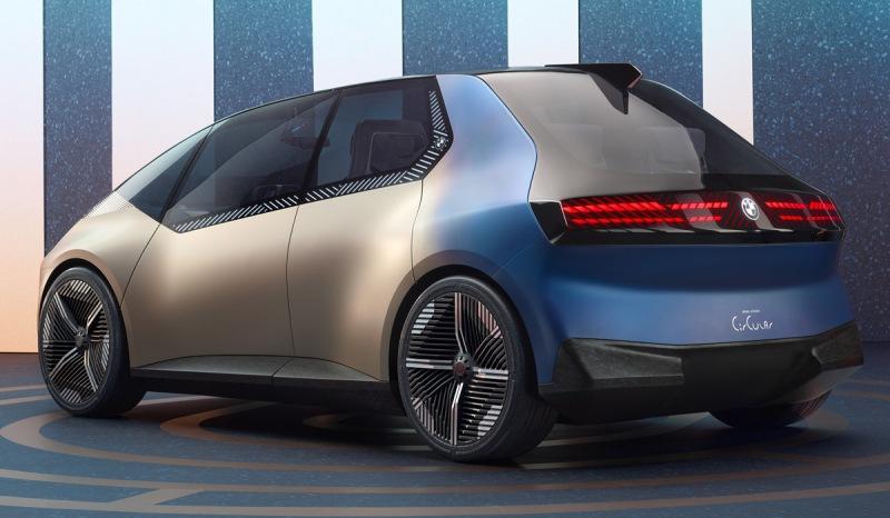 Новый концепт BMW i Vision Circular, сделанный на 30% из мусора