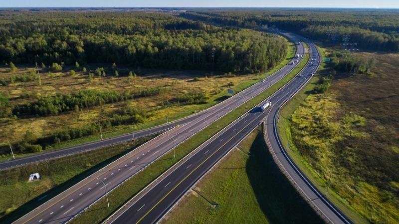 Платная трасса от Москвы до Казани: будущую автодорогу уже видно из космоса