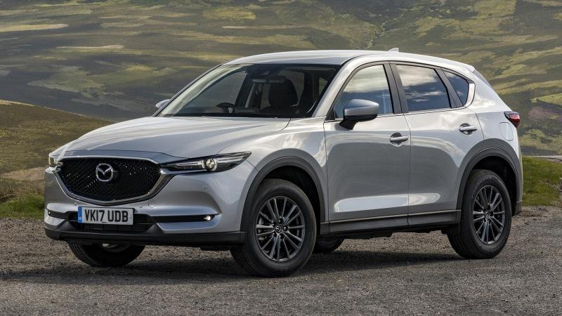 Рестайлинг Mazda CX-5: новые изображения