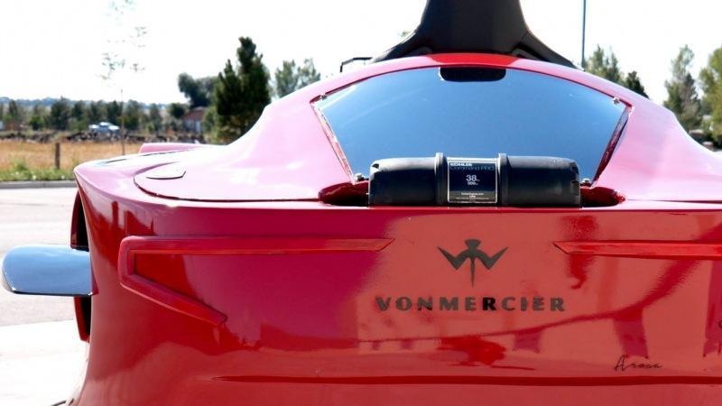 Родстер-амфибия на воздушной подушке VonMercier Arosa: для дорог и направлений