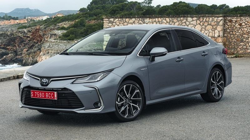 Самый дешёвый седан Toyota: новые изображения