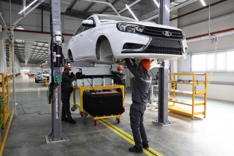 Сборку автомобилей Лада начали в Узбекистане