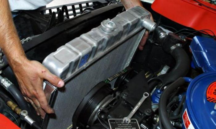 Схема циркуляции охлаждающей жидкости. Схема системы охлаждения двигателя
