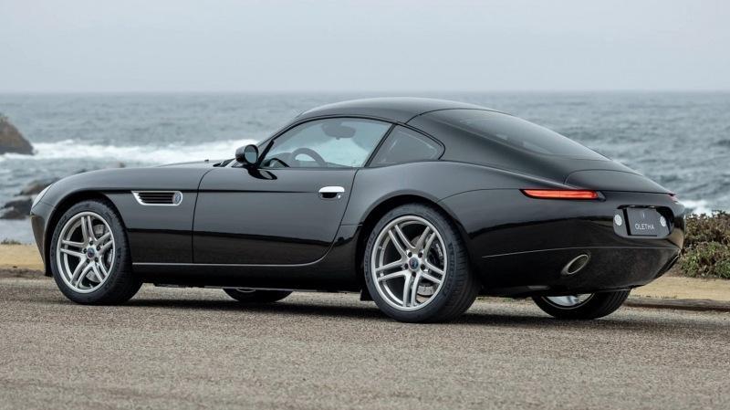 SVE Oletha: купе с углепластиковым кузовом по мотивам родстера BMW Z8