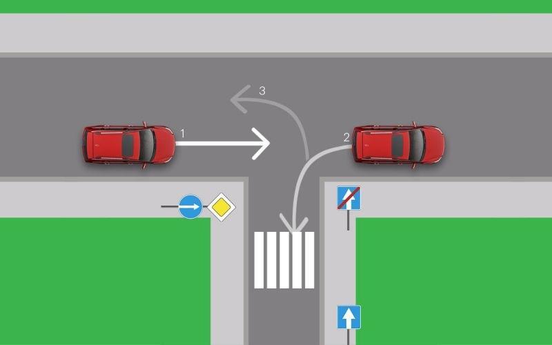 Водители так делают, когда пропускают поворот. За это штраф или лишение