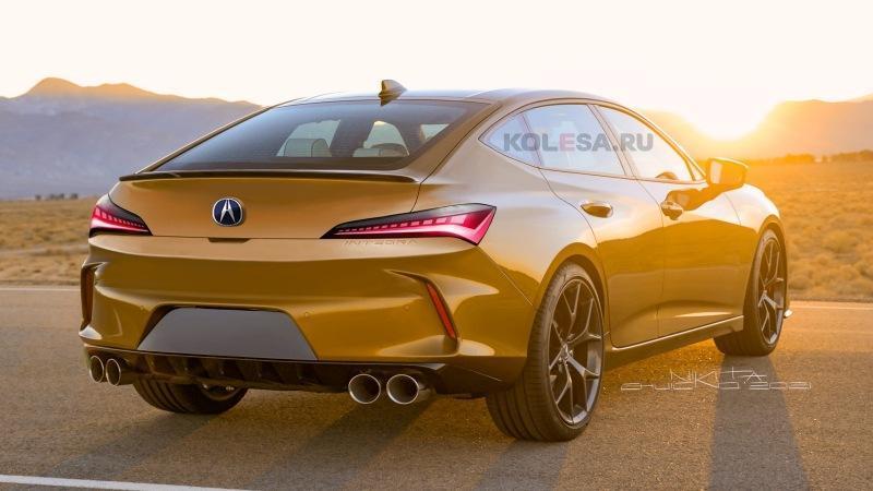 Acura Integra: новые изображения