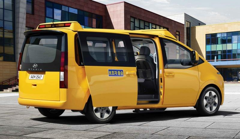Из минивэна Hyundai Staria сделали школьный транспорт