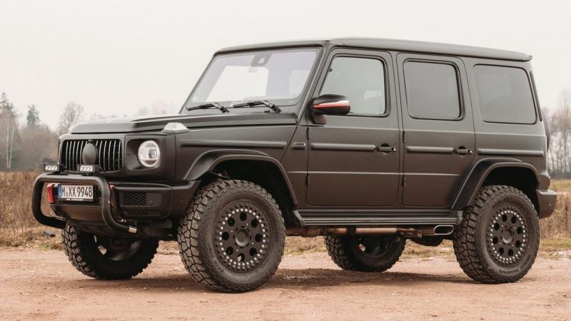 Mercedes-Benz G-Class доработан для бездорожья специалистами по ралли-рейдам