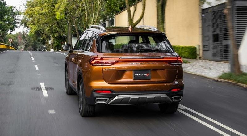 Новый кроссовер Dodge Journey почти дословно повторил «китайца» GAC GS5