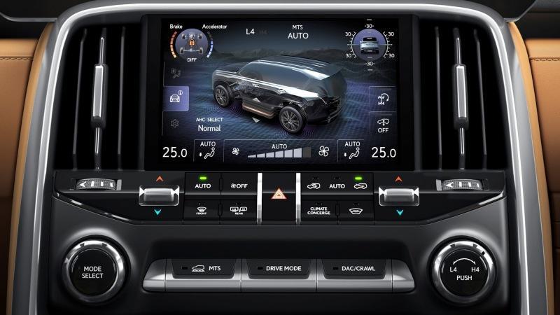 Новый Lexus LX: больше экранов, камеры для бездорожья и роскошная VIP-версия