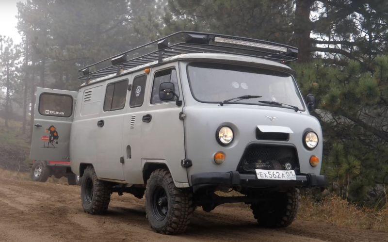 «Похожа на злой русский тостер!» Американцы сравнили «Буханку» с Jeep