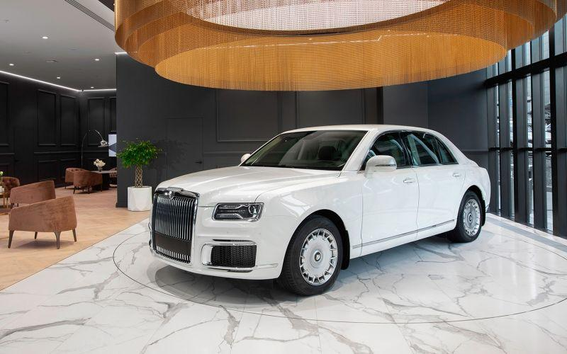 Стоимость обслуживания машин Aurus оказалась сопоставимой с Rolls-Royce